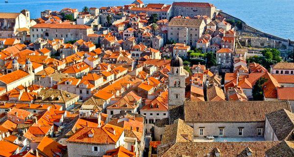 Черепичні покрівлі Європи (Дубровник)