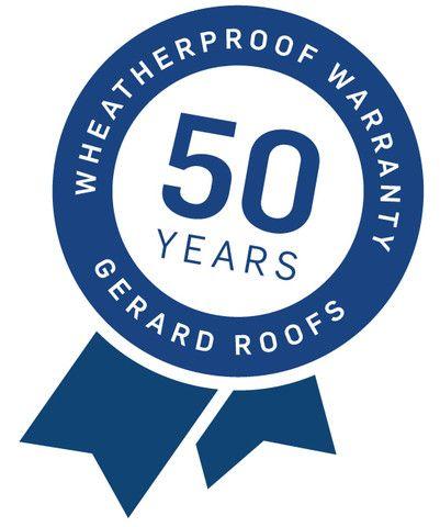 Официальная гарантия на черепицу - 50 лет