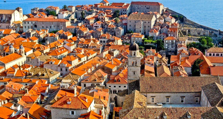 Черепичные крыши Европы (Дубровник)