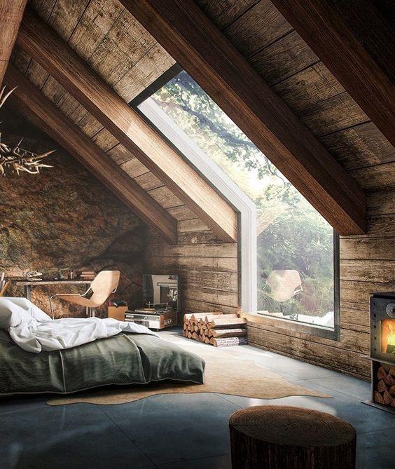 Мансарда - самая романтическая комната в доме